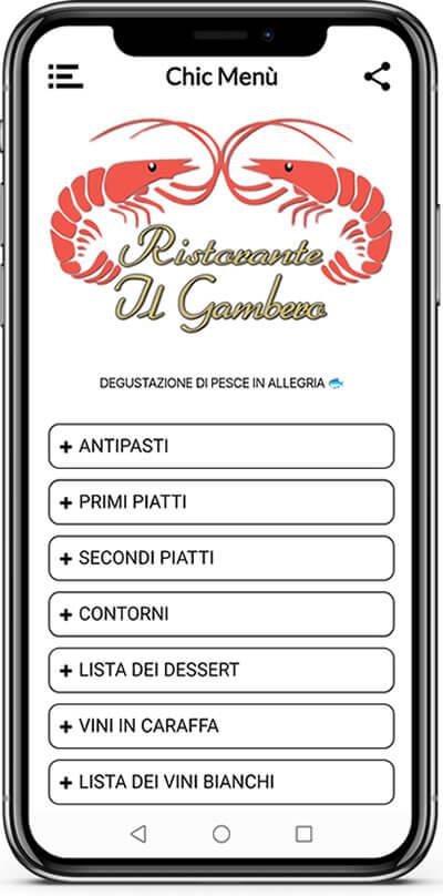 gambero-chic-menu-varazze-iphone